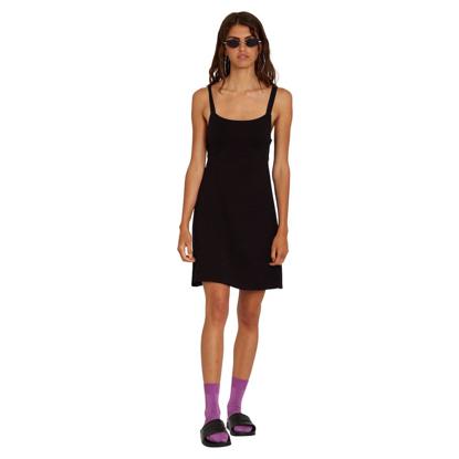 VOLCOM EASY BABE DRESS W BLACK XS