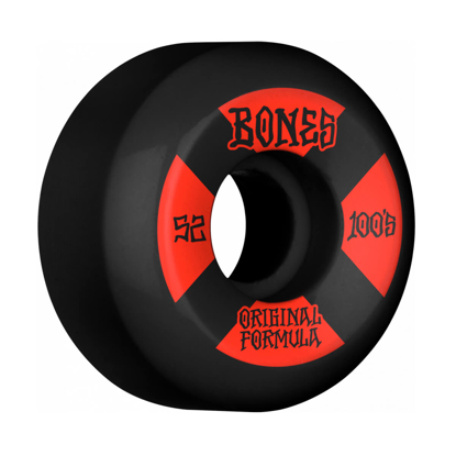 BONES OG FORMULA #4 52 V5 SIDECUT 100A BLACK 52MM