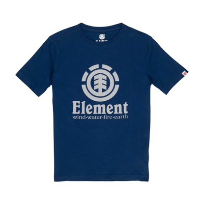 ELEMENT VERTICAL T-SHIRT KID ECLIPSE NAVY 6