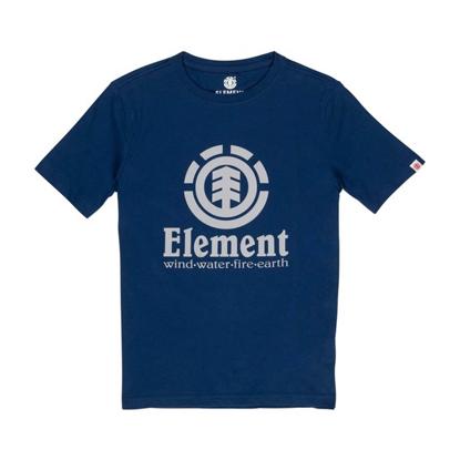 ELEMENT VERTICAL T-SHIRT KID ECLIPSE NAVY 2