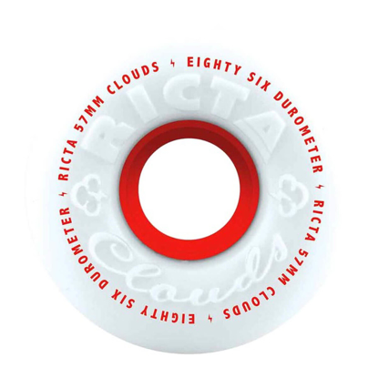 RICTA CLOUDS RED 57MM RED 57MM