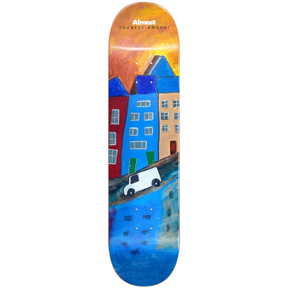"""ALMOST YOUNESS PLACES R7 8.25"""" DECK YOUNESS/RIGHT 8.25"""""""