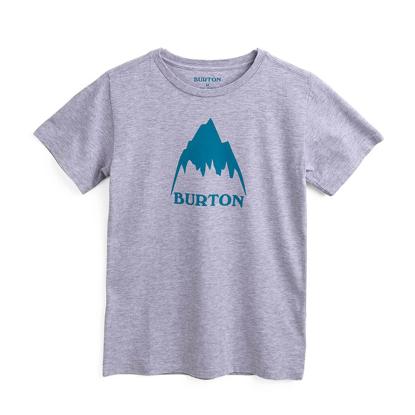 BURTON CLSC MTNHGH T-SHIRT KID GRAY HEATHER XL
