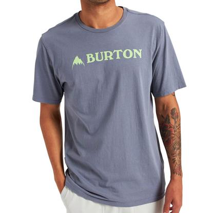 BURTON HORIZONTAL MTN T-SHIRT FOLKSTONE GRAY L