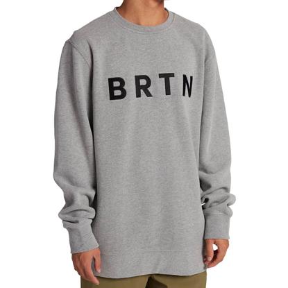 BURTON BRTN CREW GRAY HEATHER S