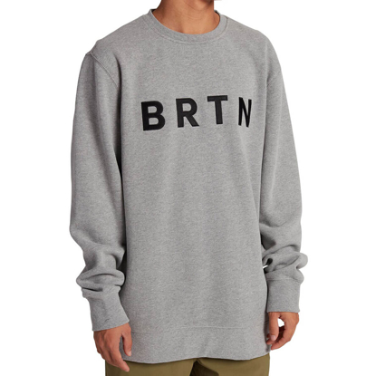 BURTON BRTN CREW GRAY HEATHER L