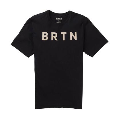 BURTON BRTN T-SHIRT TRUE BLACK L