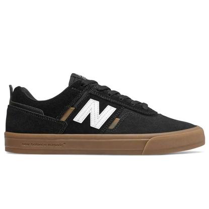 NEW BALANCE NUMERIC NM306 BLACK / GUM 10