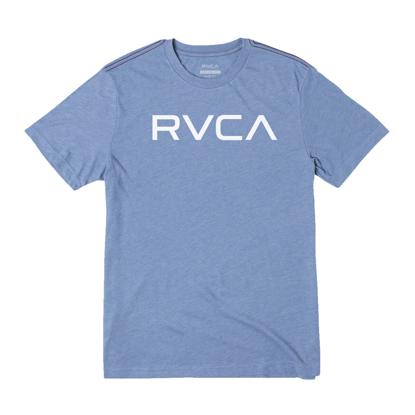 RVCA BIG RVCA T-SHIRT FRENCH BLUE S