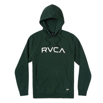 RVCA BIG RVCA HOODIE HUNTER GREEN M